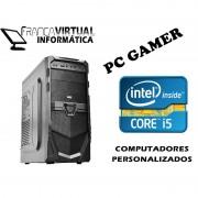 Computador CPU Top Gamer Intel I5 3.0GHZ MB H61 8GB 1TB GEFORCE 9800GT 1GB DVD-RW Vulcan Gamer