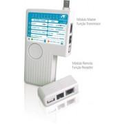 Testador de cabo RJ11 e RJ45, BNC e USB GTS NETWORK