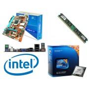 Kit Placa M�e PC WARE H61 + Processador Intel Core i5 + Mem�ria DDR3 4Gb 1333Ghz