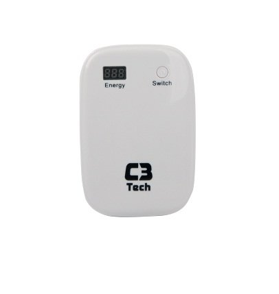 Power Bank Carregador Universal Multifunção C3 Tech Branco UC - 6000WH