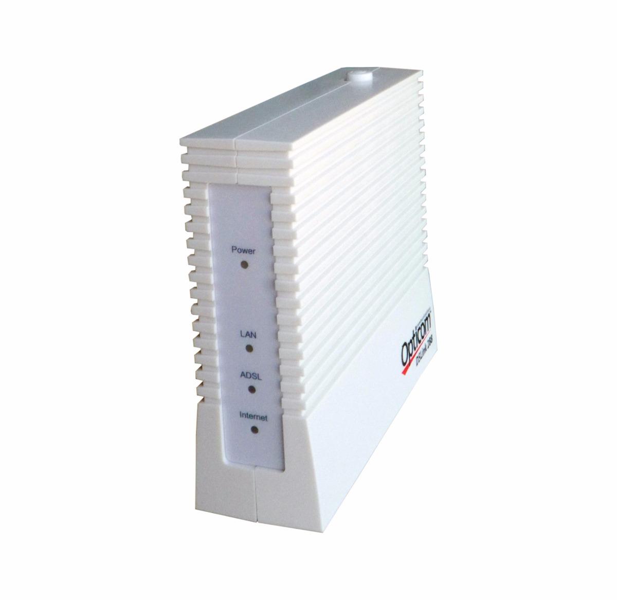 Modem Opticom Dslink 288 Speedy ADSL RJ11 RJ15