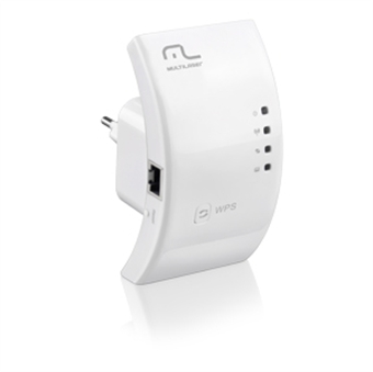 Repetidor Wireless 300mbps - Expansor De Sinal - Multilaser RE051