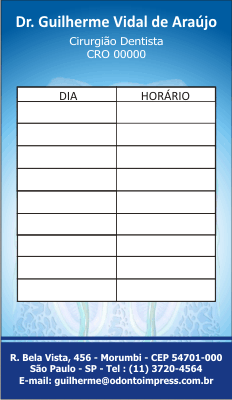 Cart�o de Retorno - Ref. 2091
