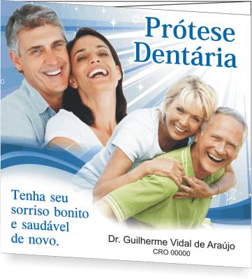 Folder PRÓTESE DENTÁRIA - Ref. 2102