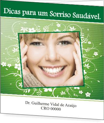 Folder SAÚDE BUCAL - Ref. 2203