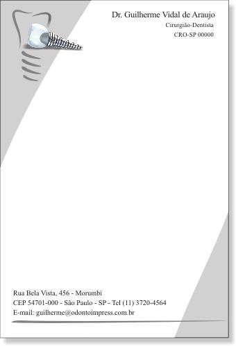 Receituário IMPLANTODONTIA - Ref. 2659
