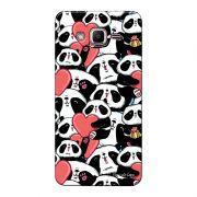 Capa Personalizada para Samsung Galaxy J2 Prime Love Panda - LV21