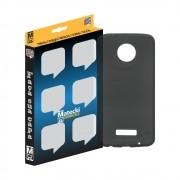 Capa TPU Premium Grafite para Motorola Moto Z2 Force - Matecki