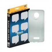Capa TPU Premium Transparente para Motorola Moto Z2 Force - Matecki