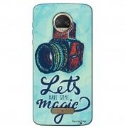 Capa Personalizada para Motorola Moto Z2 Force Câmera Fotográfica - VT16