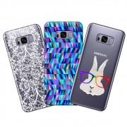 Capa Transparente Personalizada para Samsung Galaxy S8 Plus G955