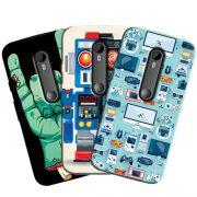Capa Personalizada Exclusiva Motorola Moto G3 XT1543 XT1544 - 3ª Geração