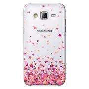 Capa Transparente Personalizada Exclusiva Samsung Galaxy J5 SM-J500F - TP48