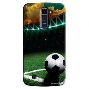 Capa Personalizada Exclusiva LG K10 TV K430DSF Futebol - EP07