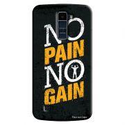 Capa Personalizada Exclusiva LG K10 TV K430DSF No Pain No Gain - EP32