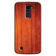 Capa Personalizada Exclusiva LG K10 TV K430DSF Textura Madeira - TX45