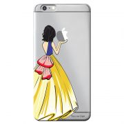 Capa Transparente Personalizada Exclusiva Apple Iphone 6/6s Princesa Branca de Neve - TP203