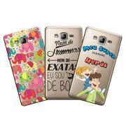 Capa Transparente Personalizada Excusiva Samsung Galaxy ON 7 SM-G600