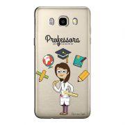 Capa Personalizada Transparente Exclusiva Samsung Galaxy J7 2016 Professora - TP217