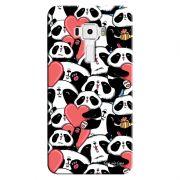 Capa Personalizada para Asus Zenfone 3 5.2 ZE520KL Love Panda - LV21
