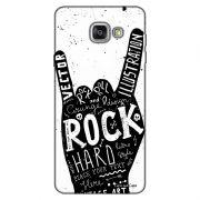 Capa Personalizada para Samsung Galaxy A9 A910 Rock'n Roll - MU31
