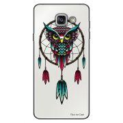 Capa Transparente Personalizada para Samsung Galaxy A9 A910 Coruja - TP20
