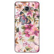 Capa Transparente Personalizada para Samsung Galaxy A9 A910 Flores - TP38