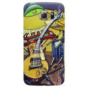 Capa Personalizada para Galaxy S6 Guitarra - DE25