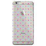 Capa Transparente Personalizada Exclusiva Apple Iphone 6/6S Plus Love - TP244