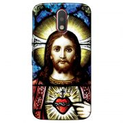 Capa Personalizada Exclusiva Motorola Moto G4 Plus Jesus - RE02