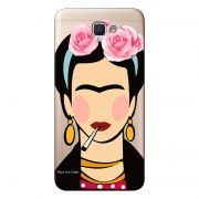 Capa Transparente Personalizada para Galaxy j7 Prime Girl Power - GP01
