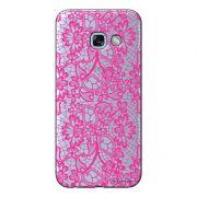 Capa Transparente Personalizada para Samsung Galaxy A5 2017 Renda Pink - TP282