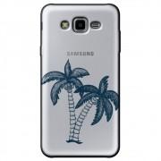 Capa Transparente Personalizada Samsung Galaxy J7 Neo - Coqueiro - TP319