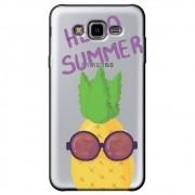 Capa Transparente Personalizada Samsung Galaxy J7 Neo - Hello Summer - TP322