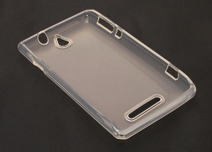Capa de TPU para Sony Xperia E  C1604 C1605  Pelicula Transparente