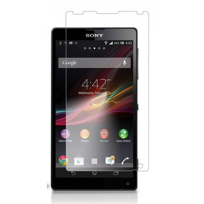 Pelicula Protetora para Sony Xperia ZL ZQ L35H Transparente