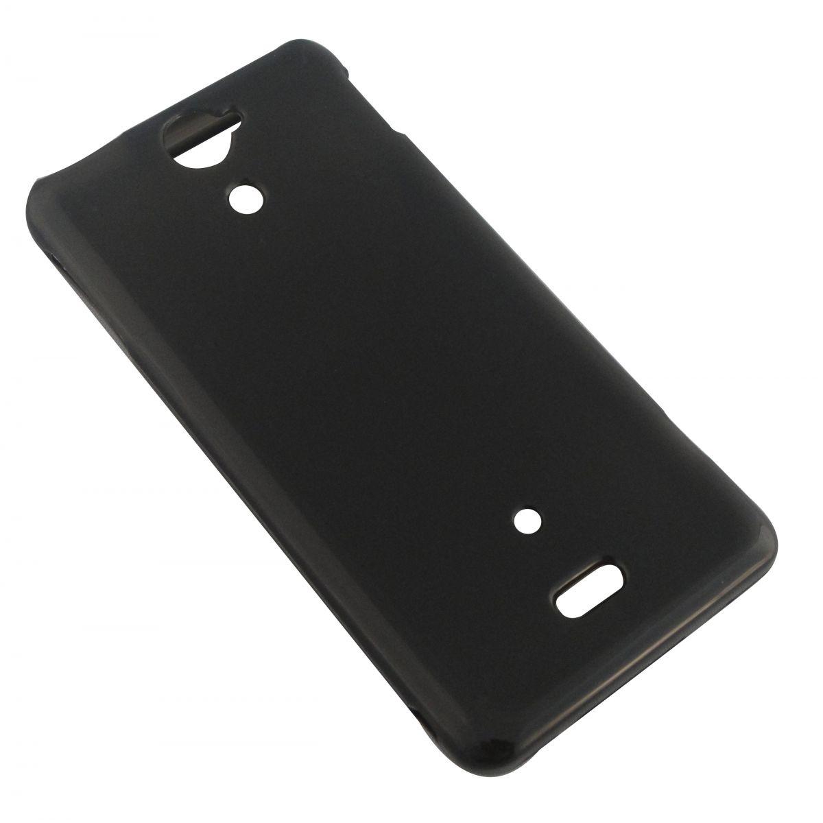 Capa de TPU para Sony Xperia V Lt25i + Pelicula Grafite