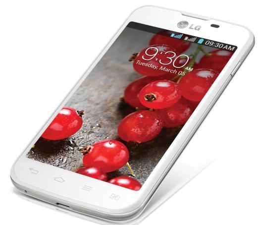 Pelicula Protetora para LG Optimus II L5 Dual E455 Fosca