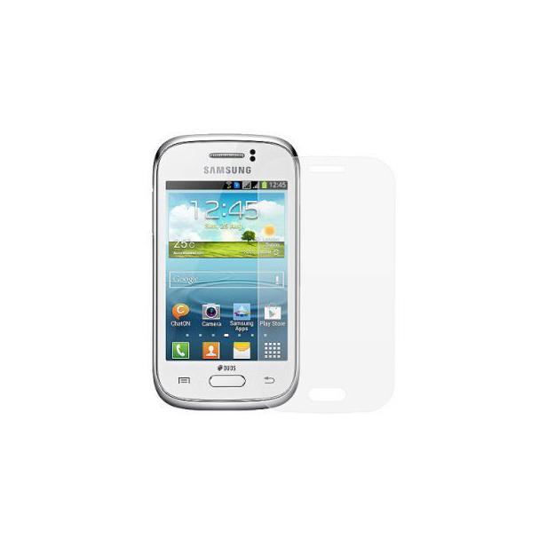 Pelicula Protetora para Samsung Galaxy Young Duos TV S6310 S6312 S6313 Transparente