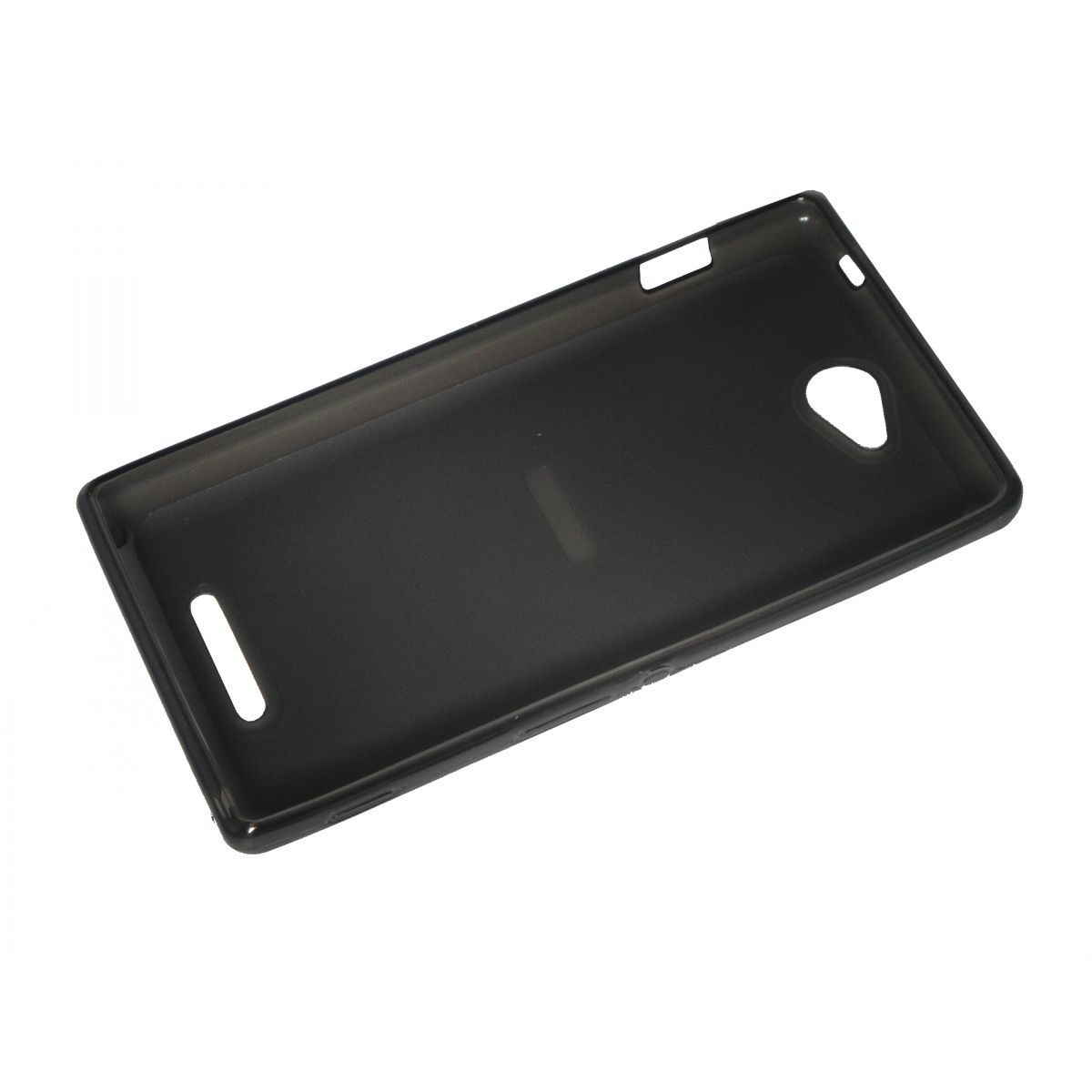Capa de Tpu para Xperia C C2304 C2305 S39H  + Pelicula Grafite