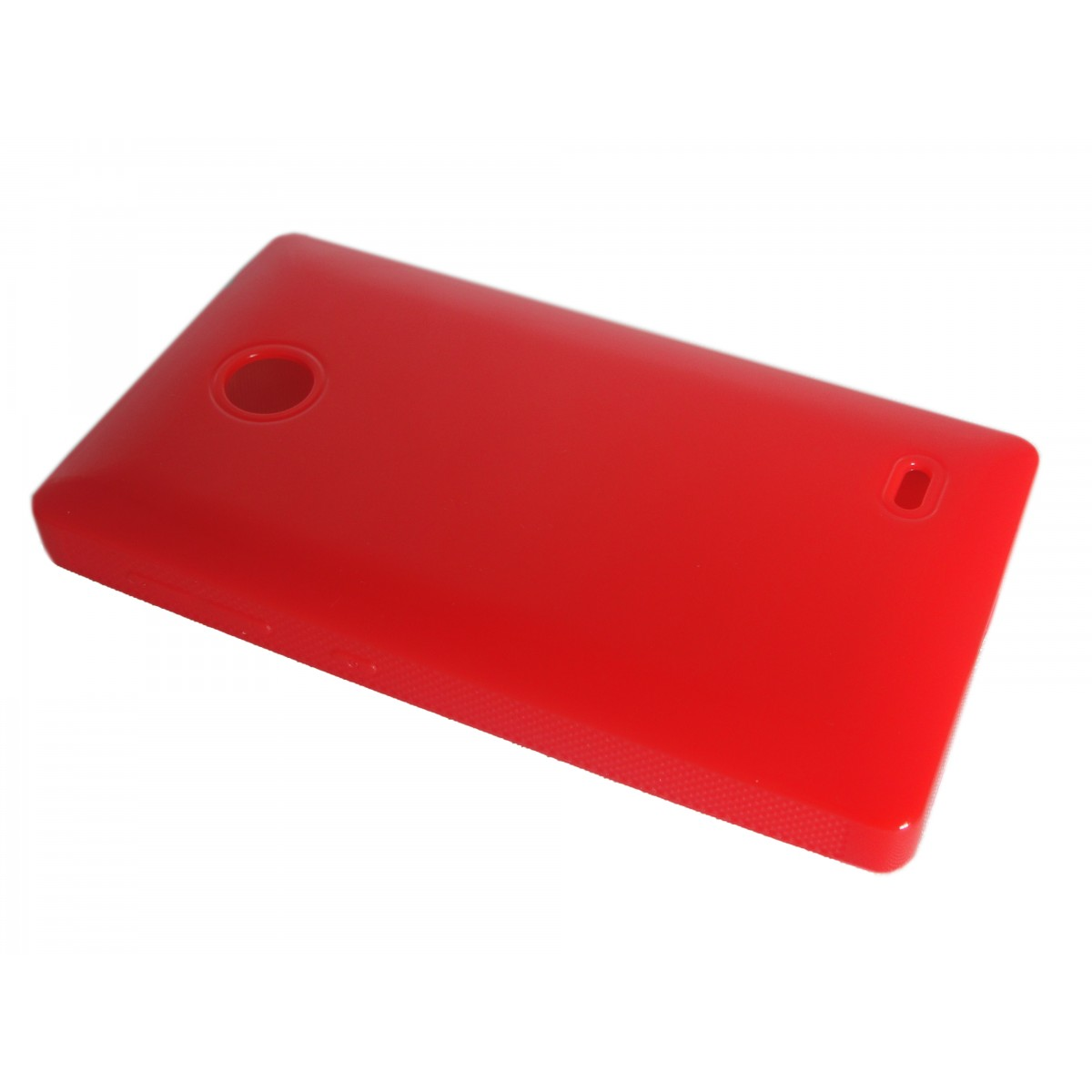 Capa de Tpu para Nokia X A110 RM980 + Pelicula Vermelha