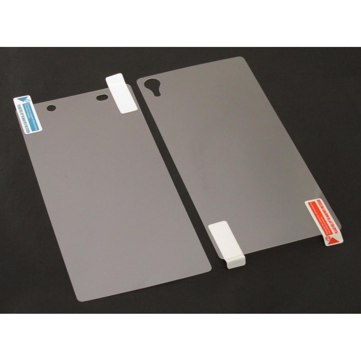 Pelicula Protetora para Sony Xperia Z2 D6502 D6503 D6543 Frente e Verso Fosca