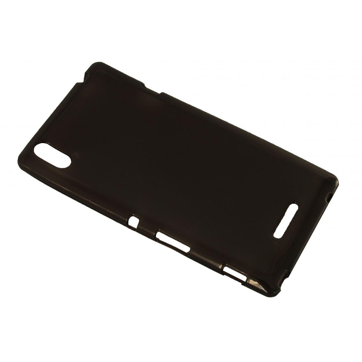 Capa de Tpu para Sony Xperia T3 D5102 D5103 D5106 Grafite