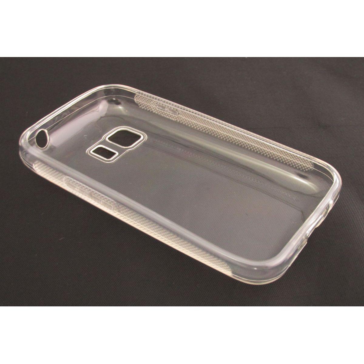 Capa de Tpu para Samsung G130 G130M Galaxy Y2 Young 2 Transparente