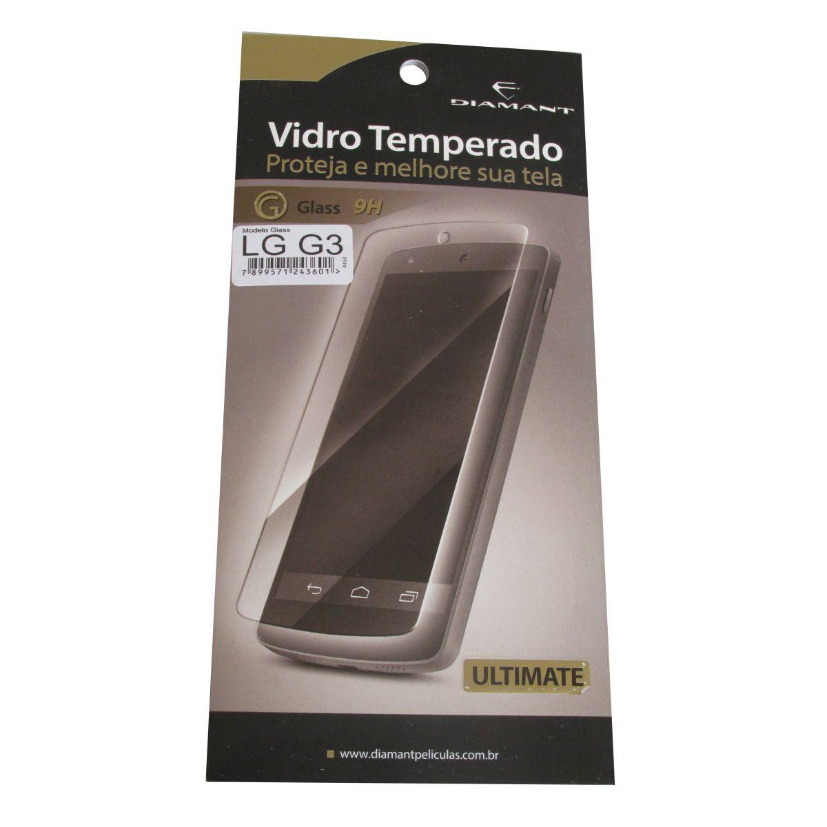 Pelicula De Vidro Temperado LG G3 D850 D855