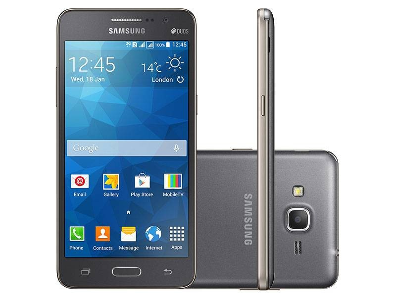 Pelicula Protetora Samsung Galaxy Grand Duos Prime Sm-g530 G5308 Transparente