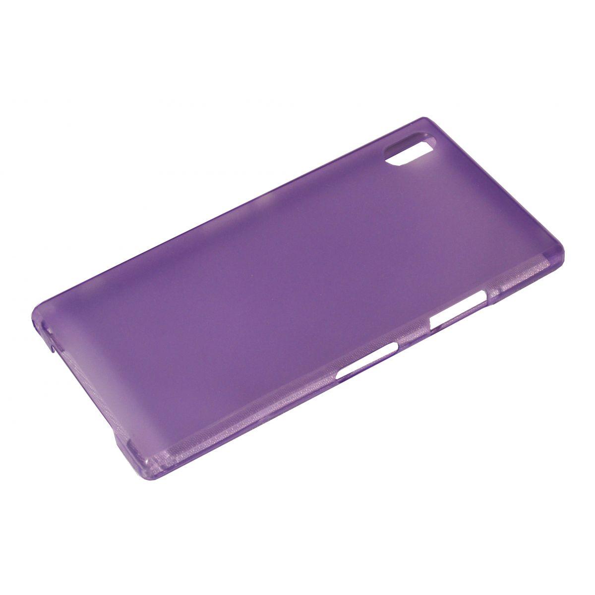 Capa Ultra Slim para Sony Xperia Z1 C6903 C6902 L39h + Película Lilás