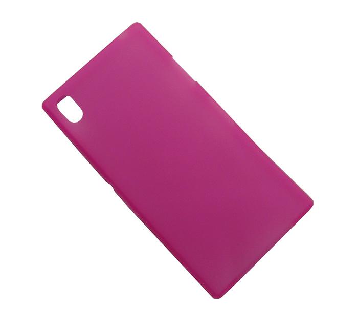 Capa Ultra Slim para Sony Xperia Z1 C6903 C6902 L39h + Película Rosa