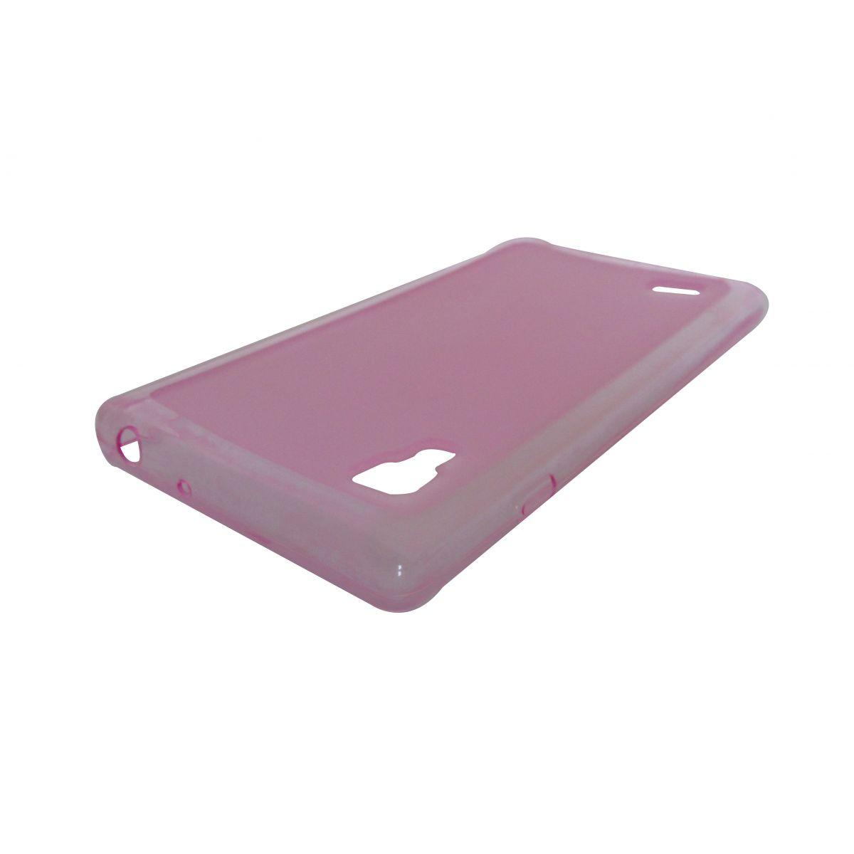 Capa de Tpu para LG Optimus L9 P760 + Película Rosa