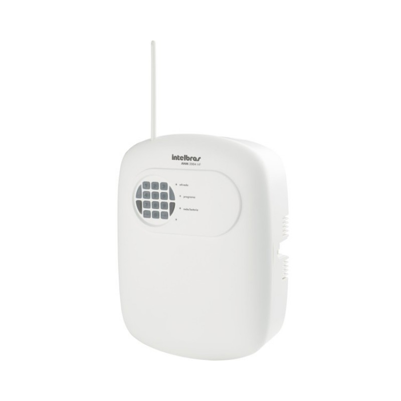 Central Alarme Intelbras não monitorada 8 zonas ANM 2008 MF - JS Soluções em Segurança